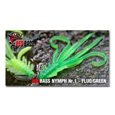 RedBass Nymfa Nr. 1 - Fluo/Green - 5ks