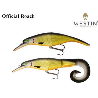 Westin Platypus TeezTail 160mm 56g/58g Official Roach