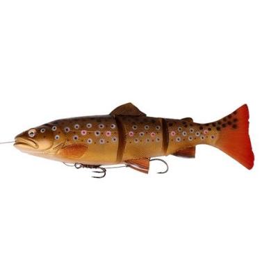 Ripper Savage Gear 20cm 3D Trout Line Thru Dark Brown Trout SS