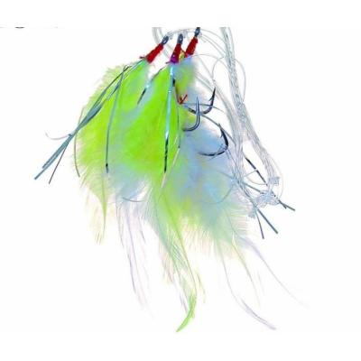 ICE fish - treskový návazec barevná peříčka A