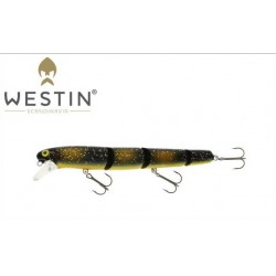 Wobler Westin Jätte Multi Jointed 17 cm 43 g Floating Stamped Roach