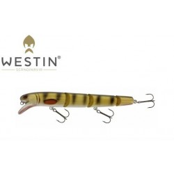 Wobler Westin Jätte Multi Jointed 17 cm 43 g Floating Goldwing