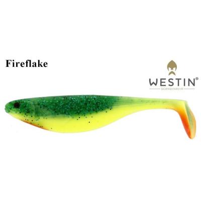 Ripper Westin Shad Teez 12 cm Crazy Fireflake