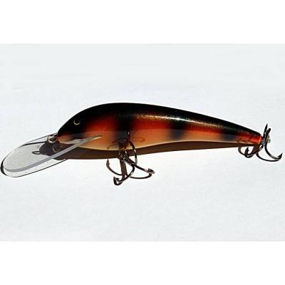 Wobler Bonito Szczupak 12,5cm plovoucí barva 18 malovaný