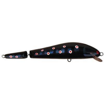 Monarch Dok Taimen 16cm SR barva Black Lax plovoucí