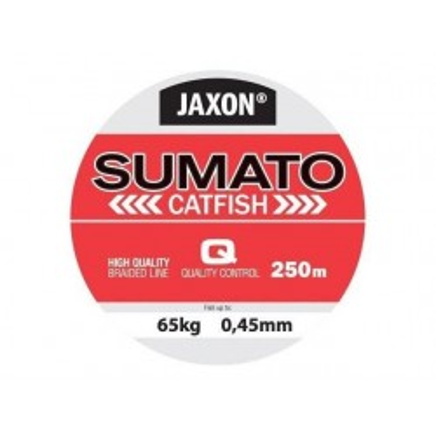 Pletená šňůra JAXON Sumato Catfish 0,36mm 250m