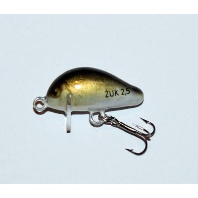 Bonito žuk 2,5cm potápivý barva 10