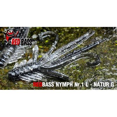 RedBass Nymfa Nr. 1 L - 80mm - Yellow RG (5ks)
