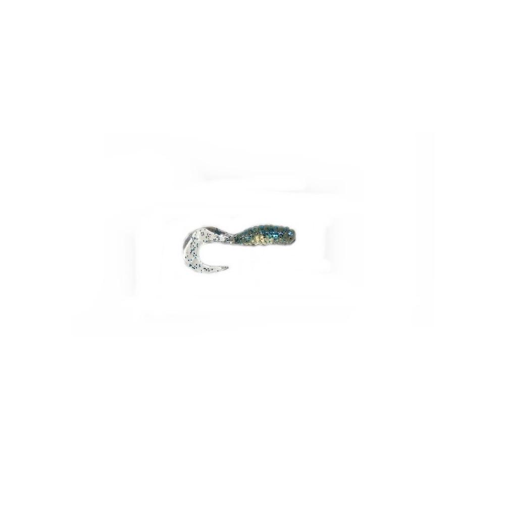 Twister 4cm - modrý s glitry