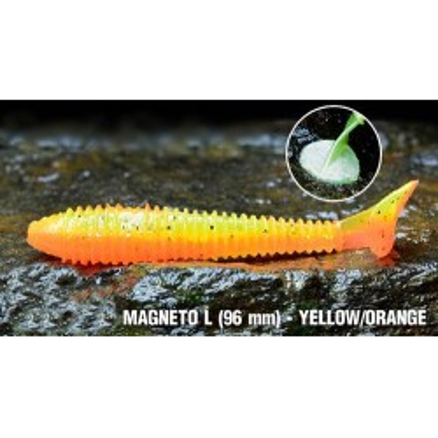 Ripper Red Bass Magneto 96mm Yellow/Orange