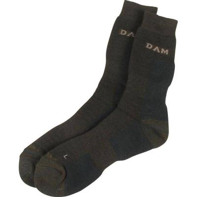DAM Thermo ponožky zelené