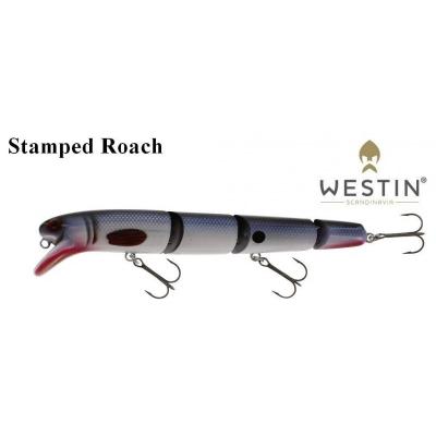 Wobler Westin Jätte Multi Jointed 17 cm 43 g  Floating  Natural Pike