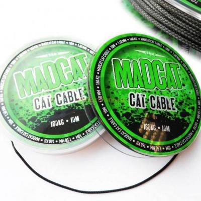 Návazcová šňůra MAD CAT CABLE 10m 160kg