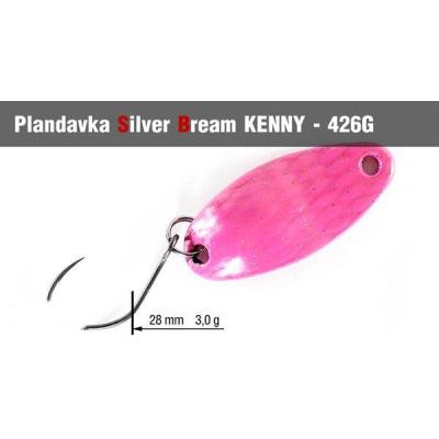 Plandavka Silver Bream Kenny 3g 006U UV color