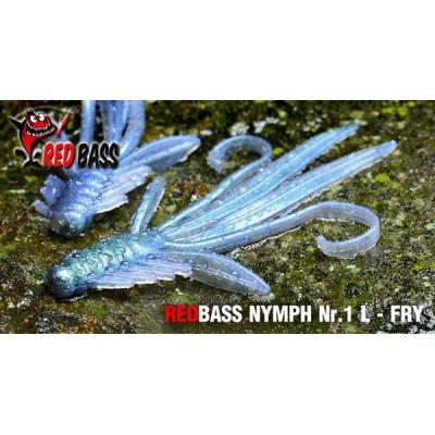 RedBass Nymfa Nr. 1 L - 80mm - Natur G (5ks)