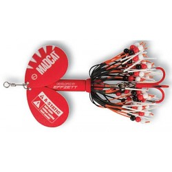 MADCAT A-STATIC RATTLIN TEASER SPINNER 75G RED