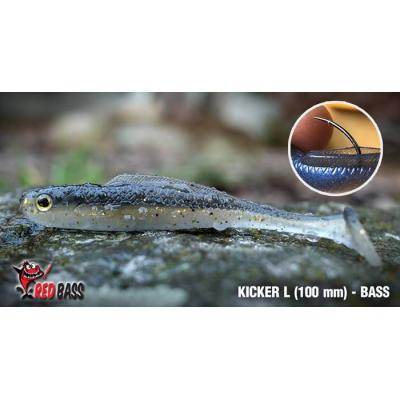 Ripper REDBASS KICKER L 100mm barva Ghost Natur